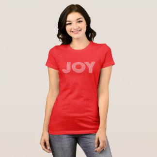 JOY   Red Holiday T-Shirt