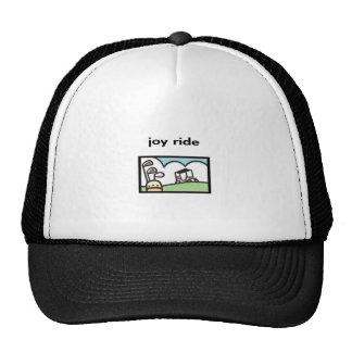 Joy Ride Golf Cart Design Mesh Hat