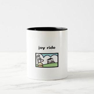 Joy Ride Golf Cart Design Coffee Mug