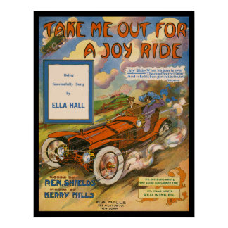 Joy Ride Print