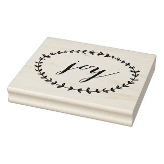 Joy Rubber Stamp