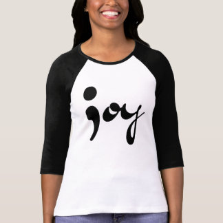 Joy Semicolon Raglan T-Shirt