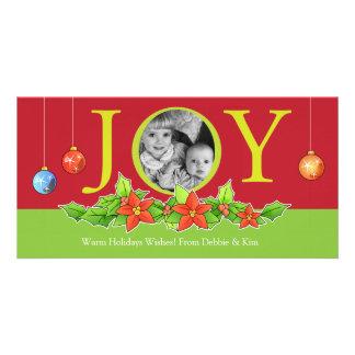 Joy this Holiday Season Christmas Photo Cards