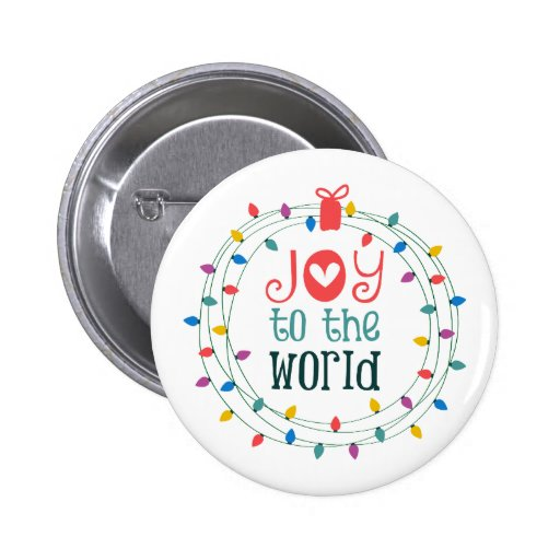Joy To The World Pins