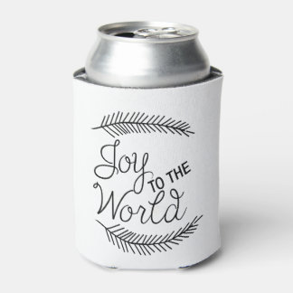 Joy to the World Can Cooler