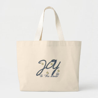 Joy To The World Canvas Bags