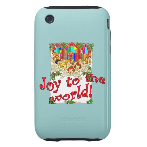 Joy to the World! Tough iPhone 3 Cases