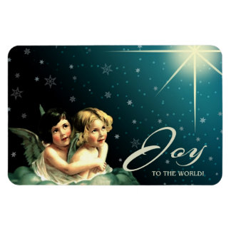 Joy to The World. Christmas Gift Magnet