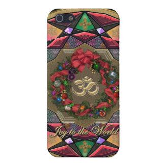 Joy to the World Christmas Mandala Case iPhone 5/5S Covers