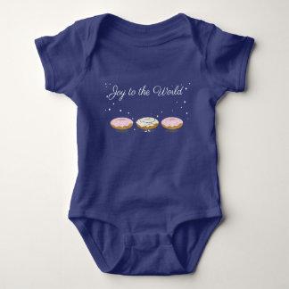 Joy to the World Donuts | Baby Bodysuit