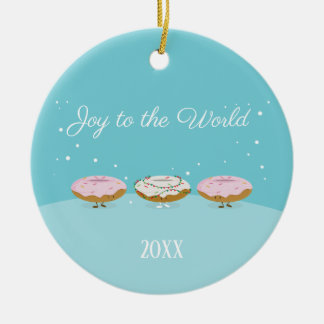 Joy to the World Donuts | Ornament