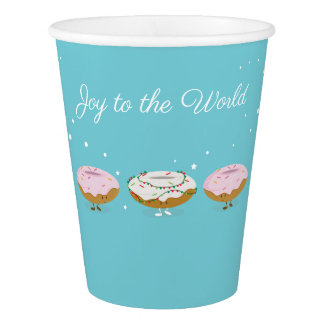 Joy to the World Donuts | Paper Cup