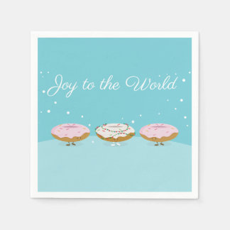 Joy to the World Donuts | Paper Napkins
