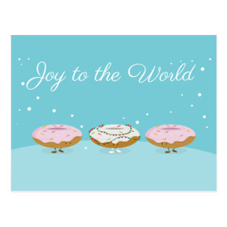 Joy to the World Donuts | Postcard