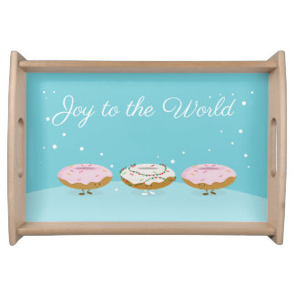 Joy to the World Donuts | Serving Tray
