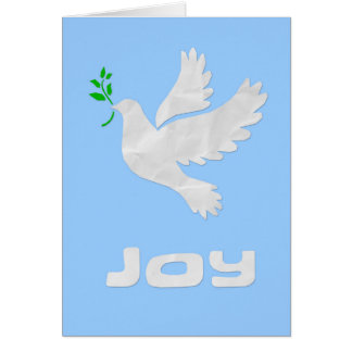 Joy to the World: Dove Christmas Card