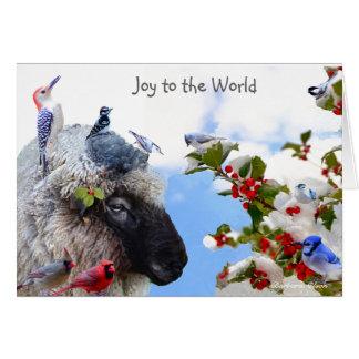 Joy to the World: Enjoy the simple pleasures. Card