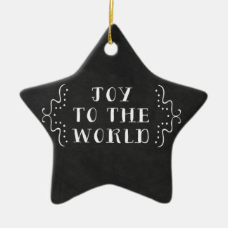 Joy to the World Holiday Christmas Ornament