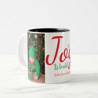 Joy to the World Holiday Mug