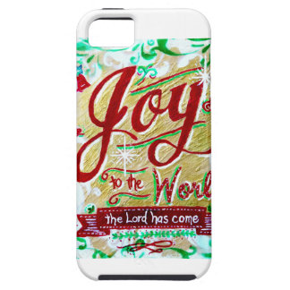 Joy to the World iPhone 5/5 case by Jan Marvin iPhone 5 Cover