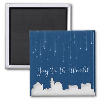 Joy to the World Jerusalem Magnet