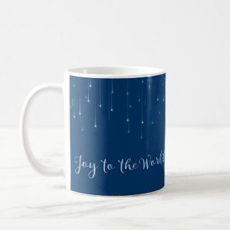 Joy to the World Starry Night Coffee Mug