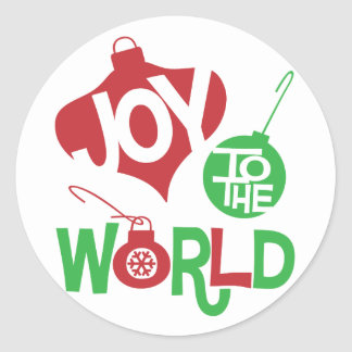 Joy to the World Sticker