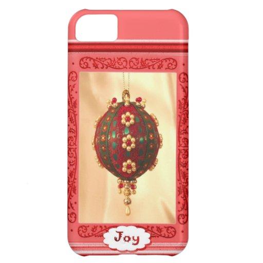Joy, traditional bauble iPhone 5C case