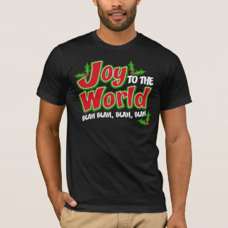 Joy World Blah Blah Dark American Apparel T-Shirt
