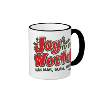 Joy World Blah Blah Ringer Mug