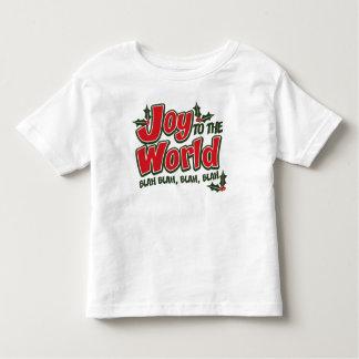 Joy World Blah Blah Toddler T Shirt (light)