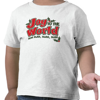 Joy World Blah Blah Toddler T Shirt (light)