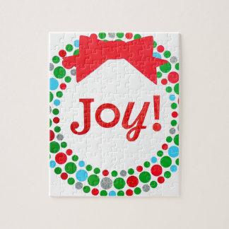 Joy Wreath Puzzle