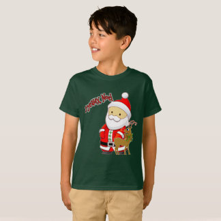 Joyeaux Noel Kids Christmas T-Shirt