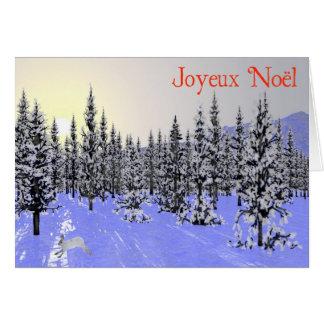 Joyeux Noёl - Winter Solstice Greeting Cards