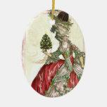 Joyeux Noel Ceramic Oval Decoration