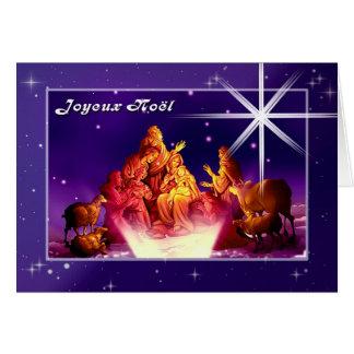 Joyeux Noël. French Customizable Christmas Card
