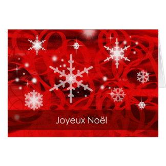 Joyeux Noël-French Greeting Card