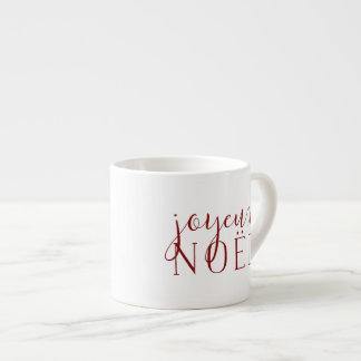 Joyeux Noel Holiday Espresso Cup
