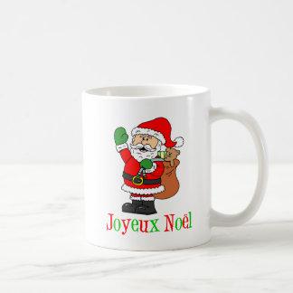 Joyeux Noel Santa French Christmas Mug