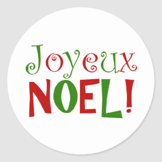 joyeux Noel Sticker