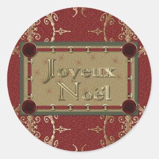 Joyeux Noel Stickers