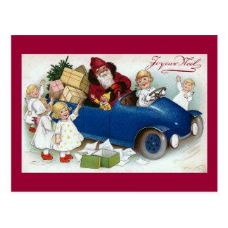 """Joyeux Noel"" Vintage French Postcard"