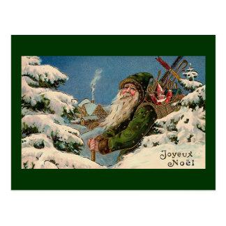 """""""Joyeux Noel"""" Vintage Postcard"""