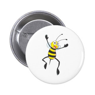 Joyful Bee Button