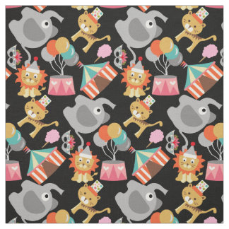 Joyful Circus Fabric