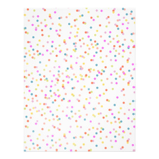 Joyful | Confetti Invitations DIY Envelope Liner 21.5 Cm X 28 Cm Flyer