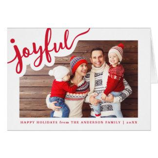 Joyful | Happy Holidays Card
