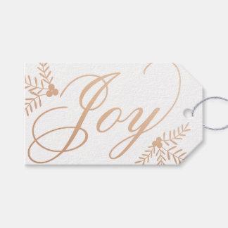 Joyful Holiday Gift Tags