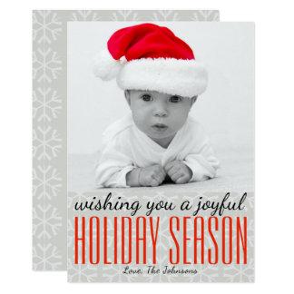 Joyful Holiday Season - Holidayzfordayz Card